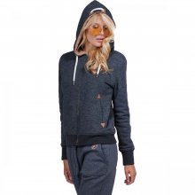 Body Action Body Action Women Fur Lined Hoodie (black)