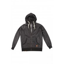 Body Action Body Action Men Hooded Sweat Jacket (Black)