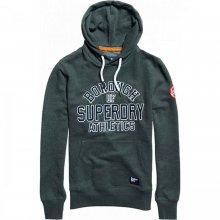 Superdry Superdry Academy Sport Applique Hood (dark smoke marl)