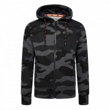 Superdry Superdry Orange Label Urban Ziphood (urban charcoal camo)