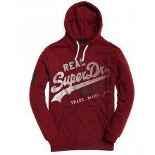 Superdry Superdry Vintage Logo - XL Hood (Bright Berry Grit)