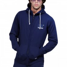 Body Action Body Action Men Fleece Full-Zip Sweatshirt (N.BLUE)