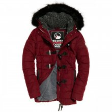 Superdry Superdry Microfibre Tall Toggle Parka