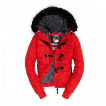 Superdry Superdry Microfibre Toggle Puffer (red)