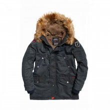 Superdry Superdry Comando Heavy Parka (washed navy)