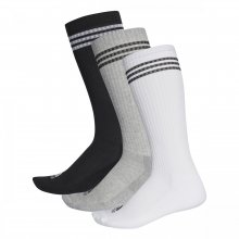 adidas Performance Adidas 3 Stripes Knee Half Cushioned 3 pairs-pack