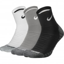 Nike Nike Unisex Dry Cushion Quarter Training Sock (3 Pair)