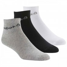 Reebok  REEBOK ACTIVE CORE ANKLE SOCKS THREE PACK