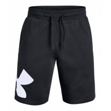 Under Armour Mens Under Armour Rival Fleece Logo Shorts Black