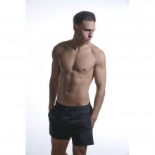 Body Action Body Action Men Short Length Swimwear (Black)