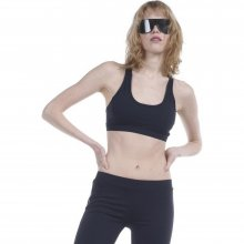 Body Action Body Action Women Sports Bra (Black)