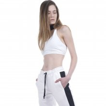Body Action Body Action Women Sports Bra (White)