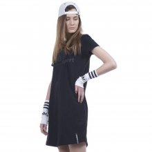 Body Action Body Action Women Slim Line T-Shirt Dress (Black)