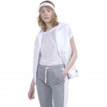 Body Action Body Action Women Ultralight Hooded Vest (White)