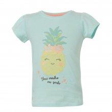 ENERGIERS Energiers Μπλούζα Κορίτσι τύπωμα ανανάς (Φυστικί)