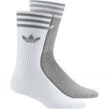 adidas Originals ADIDAS SOLID CREW 2PP MGREYH/WHITE