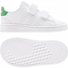 ADIDAS ADIDAS ADVANTAGE I  WHITE/GREEN