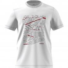 adidas Core ADIDAS M BG GRFX T WHITE/WHITE
