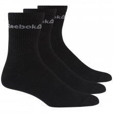 Reebok  REEBOK ACT CORE CREW SOCK BLACK/BLACK/BLACK