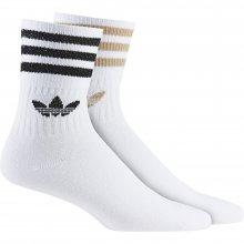 adidas Originals ADIDAS ORIGINALS  MID CUT GLT SCK WHITE/ASHPEA/BLACK