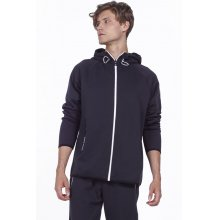 Body Action BODY ACTION MEN GYM TECH ZIP  HOODIE - BLACK