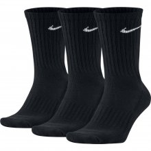 Nike Unisex Nike Cushion Crew Training Sock (3 Pair) BLACK