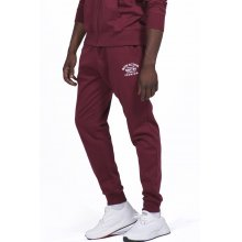 Body Action BODY ACTION MEN GYM FLEECE JOGGERS - D.MAROON