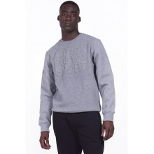Body Action BODY ACTION MEN CREW NECK SWEATSHIRT - L.MEL.GREY