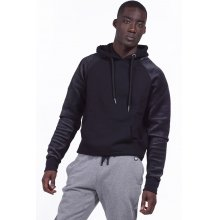 Body Action BODY ACTION MEN GYM HOODIE - BLACK