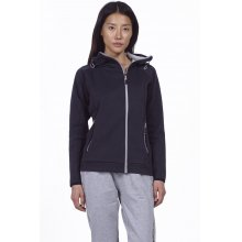 Body Action BODY ACTION WOMEN GYM TECH ZIP HOODIE - ΒLΑCΚ
