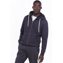 Body Action BODY ACTION MEN HOODED SWEAT JACKET - GRANITE