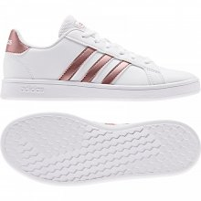 adidas Core ADIDAS GRAND COURT K FTWWHT/COPPMT/GLOPNK