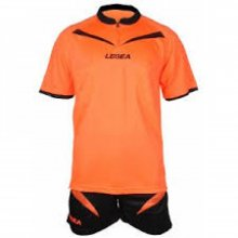 Legea LEGEA KIT ARBITRO ORANGE-BLACK