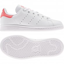 adidas Originals ADIDAS STAN SMITH J FTWWHT/FTWWHT/REAPNK