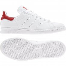 adidas Originals ADIDAS STAN SMITH FTWWHT/FTWWHT/LUSRED
