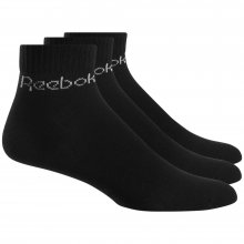 Reebok  REEBOK ACT CORE ANKLE SOCK BLACK