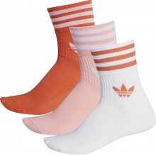 adidas Originals ADIDAS MID CUT CRW SCK GLOAMB/GLOPNK/WHITE