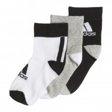 ADIDAS ADIDAS LK ANKLE S 3PP BLACK/MGREYH/WHITE