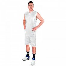 Legea LEGEA BASKET STORM MIAMI - WHITE/GOLD