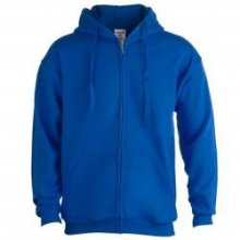 KEYA KEYA Men-hooded-zipper-sweatshirt ROYAL