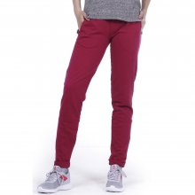 Body Action BODY ACTION WOMEN SKINNY JOGGERS - MAROON