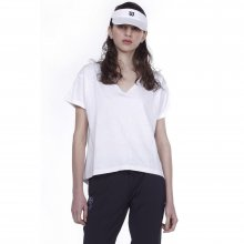 Body Action BODY ACTION WOMEN OVERSIZED S/S TOP - WHITE