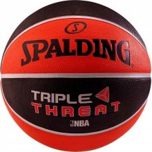 Spalding SPALDING TRIPLE THREAT RUBBER BASKETBALL