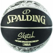 Spalding SPALDING SKETCH SERIES RUBBER BASKETBALL