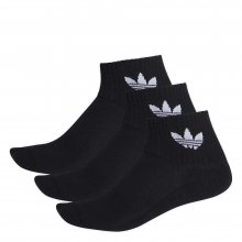 adidas Originals ADIDAS MID ANKLE SCK BLACK