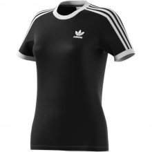 adidas Originals ADIDAS 3 STRIPES TEE BLACK