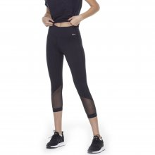 Body Action BODY ACTION WOMEN 7/8 LEGGINGS - BLACK