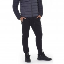 Body Action BODY ACTION MEN SPORT FLEECE JOGGERS - BLACK
