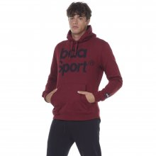 Body Action BODY ACTION MEN GYM HOODIE - MAROON