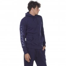 Body Action BODY ACTION MEN SPORT ZIP HOODIE - D.BLUE